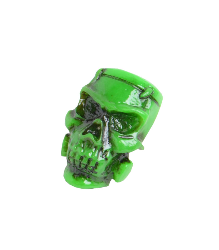 GREEN MONSTER SKULL ブローチ