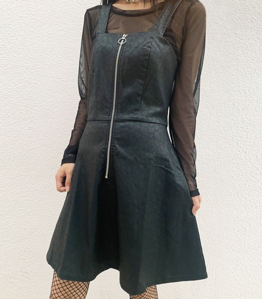 GLAM GOTH LEO DRESS
