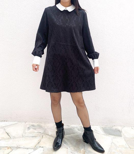 MRS NOT NICE JACQVARD DRESS