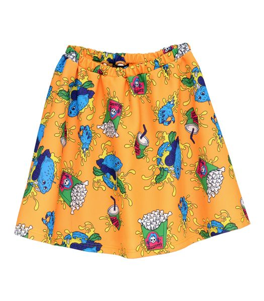 オリジナル総柄スカート