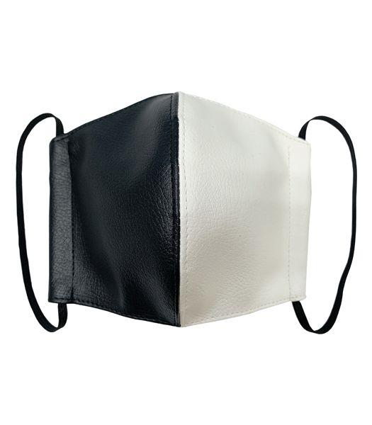 合皮コンビファッションマスク