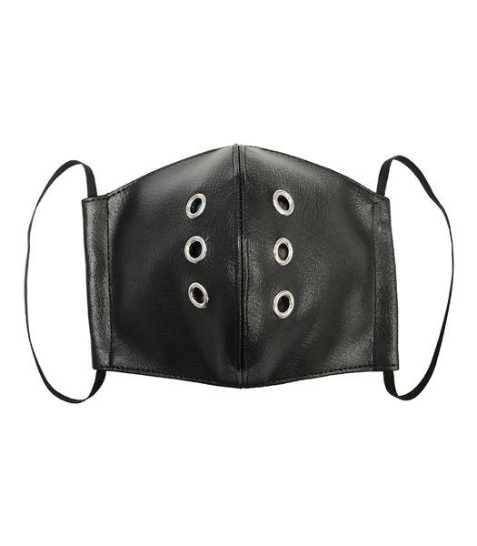 合皮ハトメファッションマスク