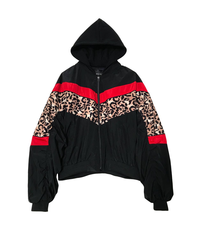 LEOPARD/BLACK/RED