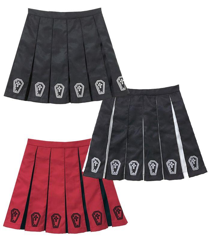 COFFINプリーツスカート
