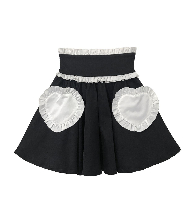 ハートポケットスカート