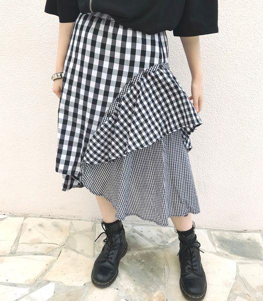 2WAY切り替えスカート