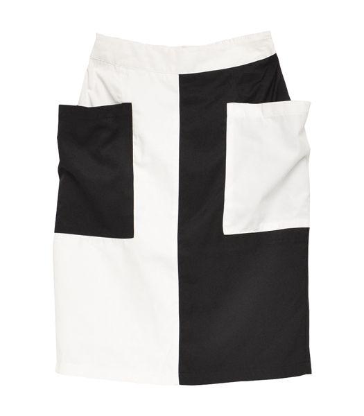切り替えスカート