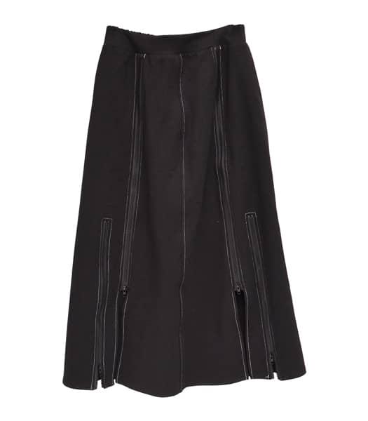 ZIPスカート