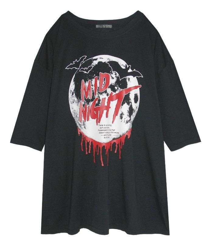 HORROR NIGHT 7分袖ビッグTシャツ
