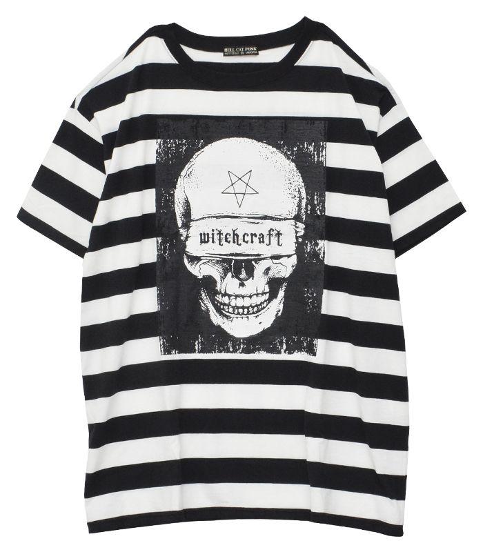 スカルボーダービッグTシャツ