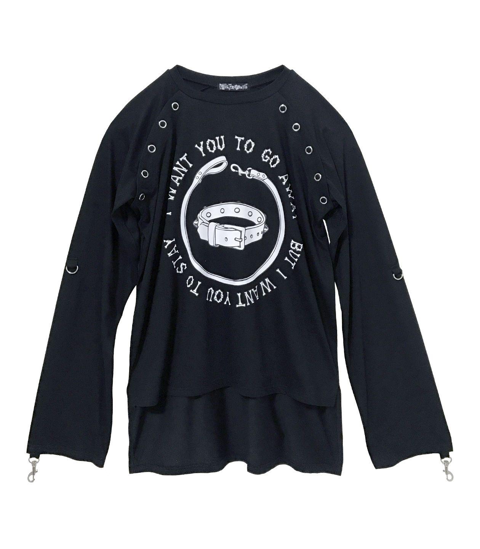 ガーゼシャツ風Tシャツ