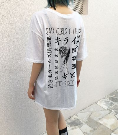 SAD GIRLS CLUB Tシャツ