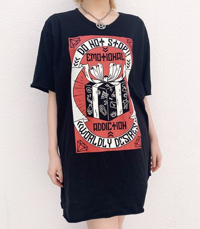 EMOTIONAL ADDICTION ビッグTシャツ