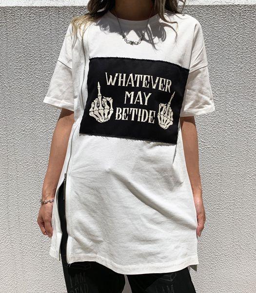 ZIP付Tシャツ