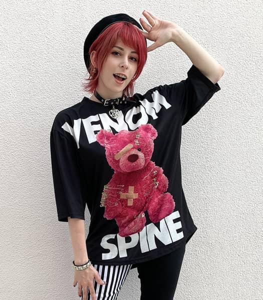 VENOM SPINE Tシャツ
