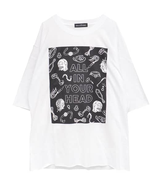 ALL IN YOUR HEAD ビッグTシャツ