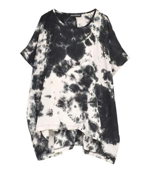 ムラ染めTシャツ
