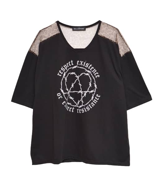 LEOメッシュTシャツ