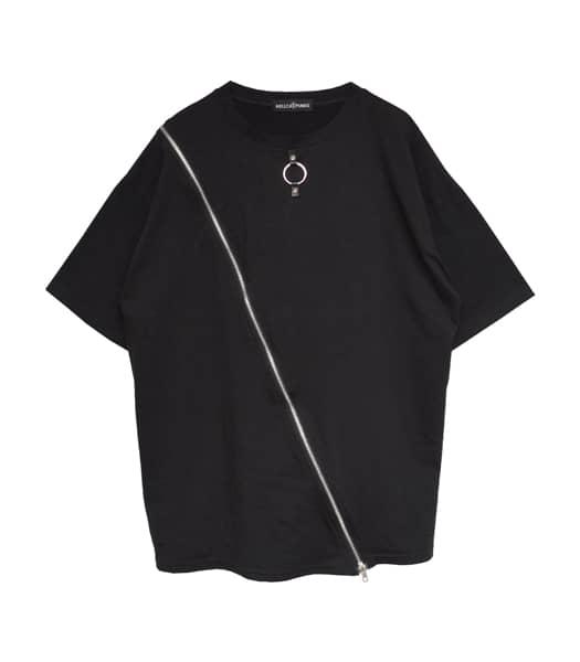ZIPビッグTシャツ