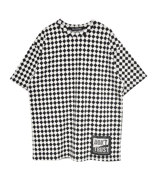 ダイアパターンTシャツ