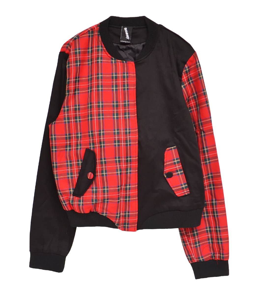 BLACK/RED CHECK