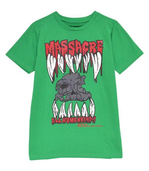 MASSACRE Tシャツ
