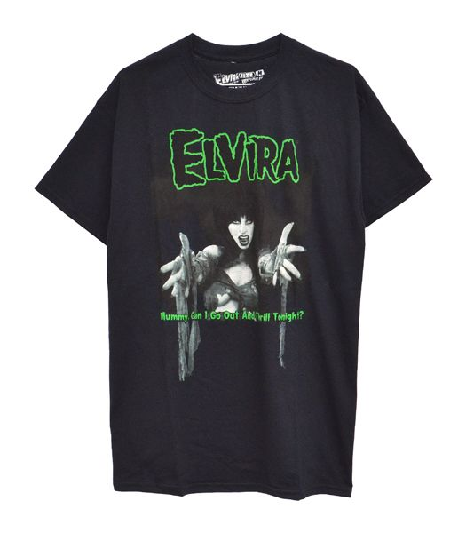 ELVIRA MUMMY Tシャツ