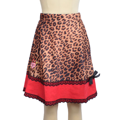 LEOPARD/RED