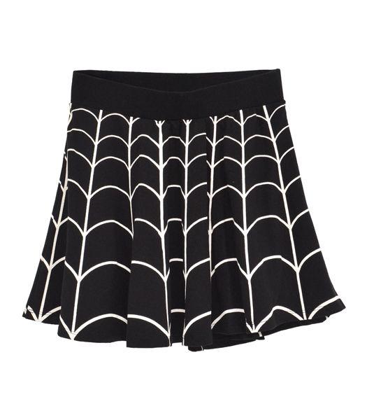WEB WHITE SKATER スカート